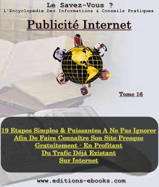 Tome 16 Publicité Internet