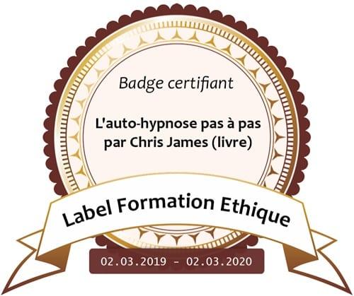 Label formation éthique - Auto-hypnose