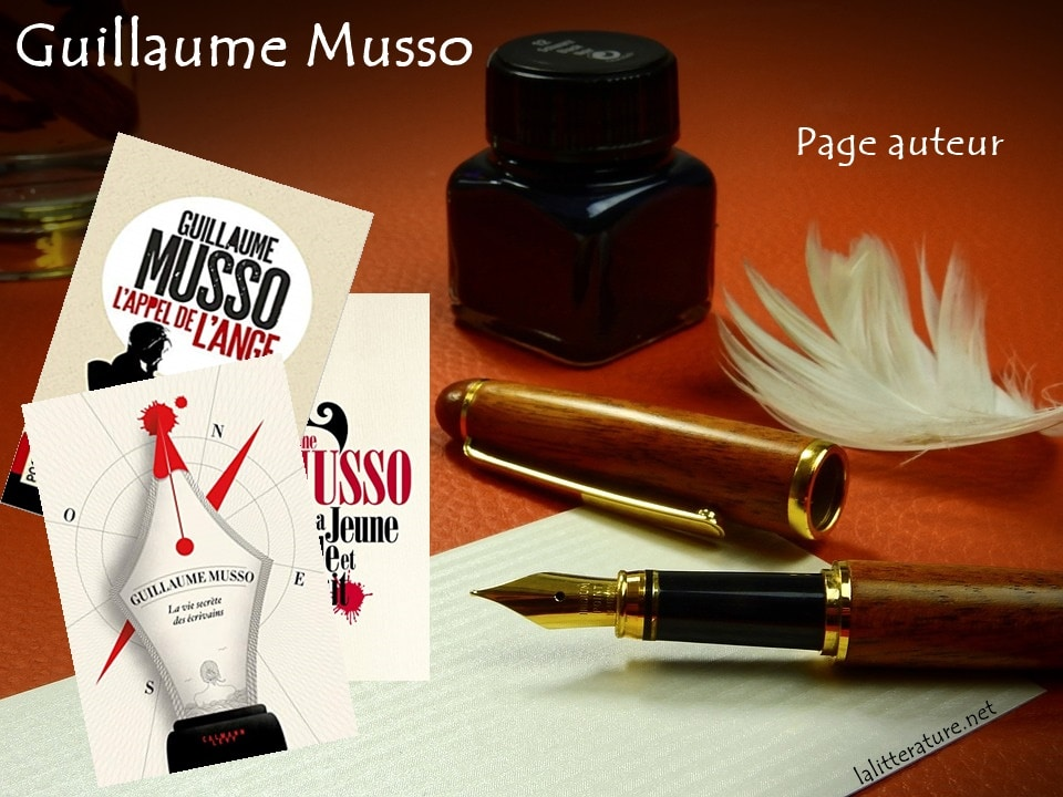 Guillaume Musso, page auteur