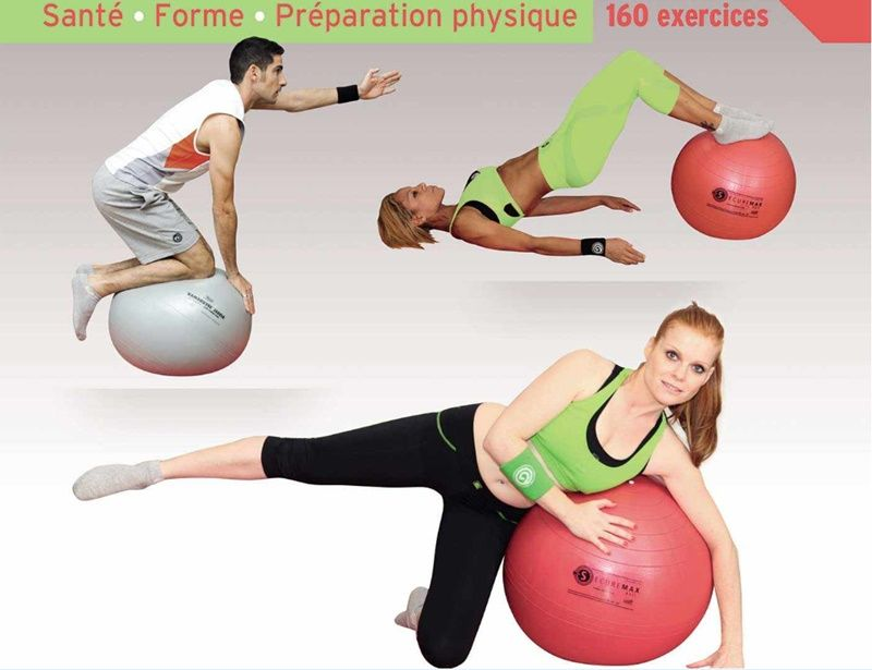 Swiss ball exercices