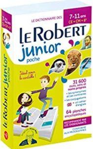 Dictionnaire Le Robert Junior - 7/11 ans - CE-CM-6e